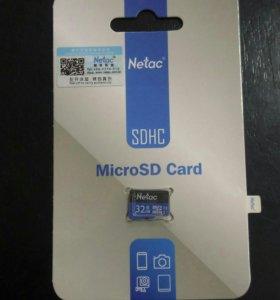 Карта памяти microSD 32Gb UHS-1 10 класс