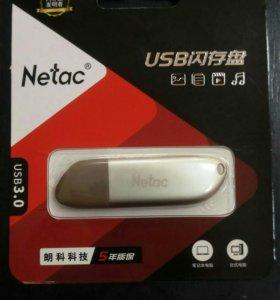 Флешка 128Gb USB 3.0 высокоскоростная металл