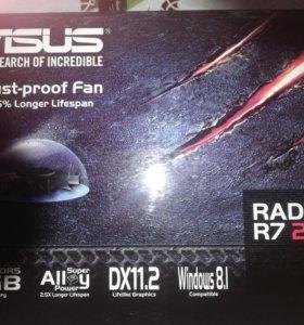 Видеокарта RADEON R7 250 1GB