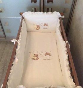 Бортики в кроватку Piccolino