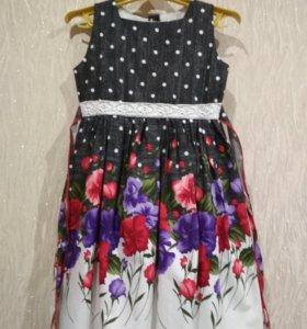 Платье новое р-р 92-98