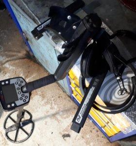 Металлоискатель Minelab E-Trac pro( с доп.катушкой