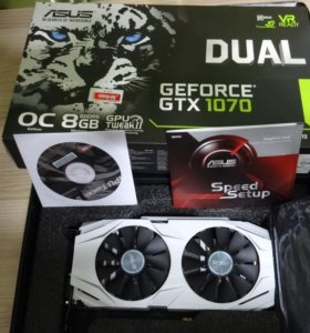 Asus Dual GeForce GTX 1070 O8G 8GB
