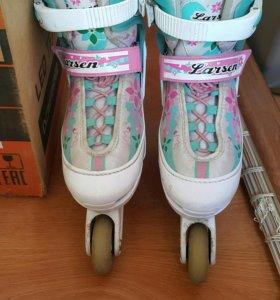 Подростковые роликовые коньки