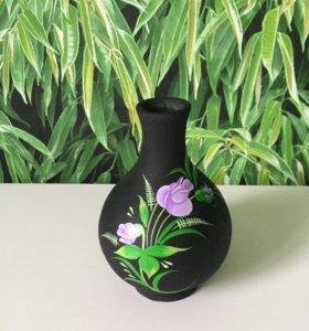 Черная керамика ручной работы - пасхальный подарок