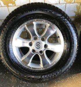 Колеса Prado 265/65/R17