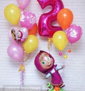 Воздушные шары. Бесплатная доставка