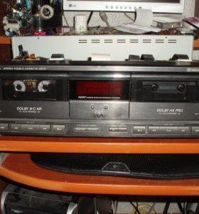 Двухкассетная дека JVC TD-W505