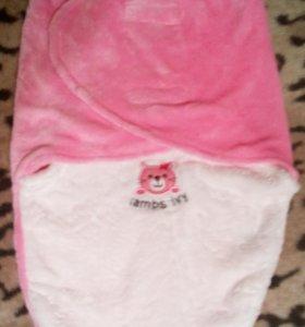 Кокон для новорожденного+ подарю спальник