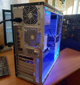Игровой компьютер GTX 1050ti Xeon x3440 8GB ОЗУ.