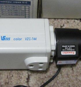 Цветная видеокамера Модель VZC-744