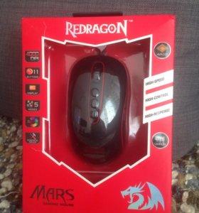 Геймерская оптическая мышка Redragon Mars