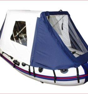 тент кабриолет тент палатка на лодку ПВХ