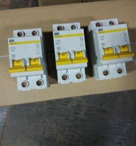 IEK BA47-29 2P C10 Автоматический выключатель