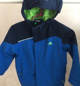 Куртка детская adidas р 116