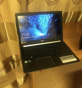 I5-7300HQ GTX1050!! игровой ноутбук