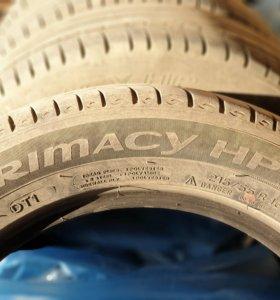 Покрышки Michelin Primacy HP 215/55R16 4шт.
