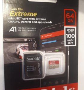 Micro sd SanDisk Extreme 64gb
