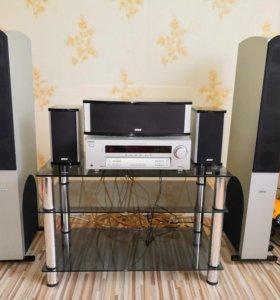 Ресивер Sony STR-DE495, акустика BBK 5.0