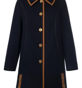Новое стильное пальто кашемир58-60 р-р