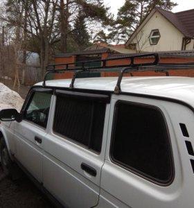 Багажник на крышу автомобиля на водостоки
