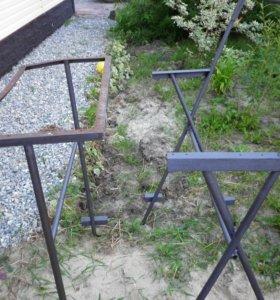 Каркас для скамейки и стола