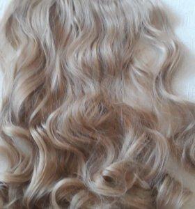 Новые волосы ленточные на заколках