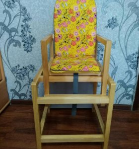 Детский стульчик для кормления 2в 1