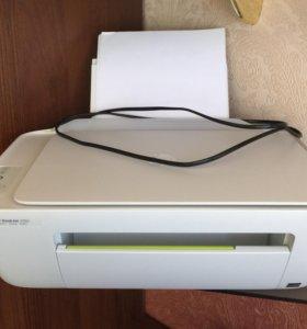 HP DeskJet 2130. Сканер копир принтер