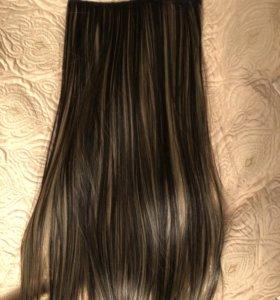 новые Волосы на заколках (иск.)