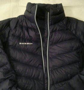Сверхлегкий пуховик куртка mammut M