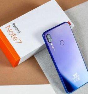 Xiaomi Redmi Note 7 3/32gb Blue. РСТ