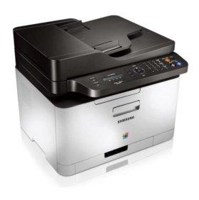 Цветное лазерное МФУ Samsung Xpress C460FW