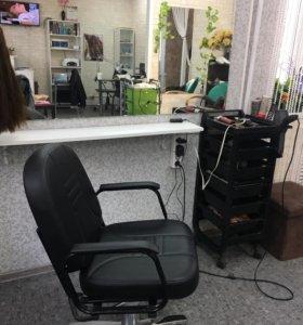 Аренда кресло для парикмахера.