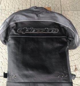 Мотокуртка alpinestars black label.