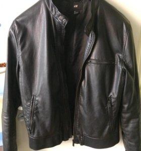 Кожаная куртка мужская