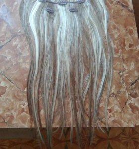 Продаю волосы на заколках