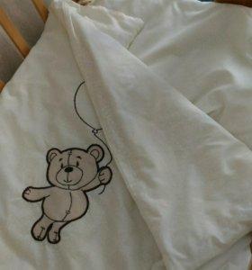 Комплект детского постельного, одеялко, подушечка
