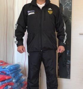 Новый влаговетрозащитный костюм Adidas Lukoil