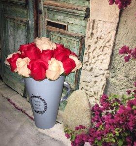 Цветы из мыльных роз 😍