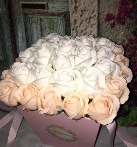 Букет из мыльных роз 😍