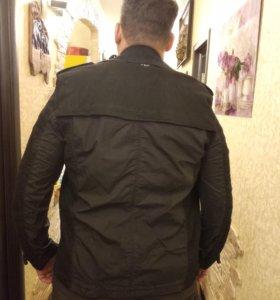 Куртка ветровка пиджак 52-54 размер