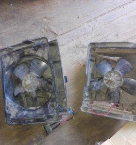 Моторы для печки в сборе 2 шт. ваз 2101-07
