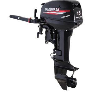 Лодочный мотор Hangkai(Ханкай), 15 л.с, 2-тактный