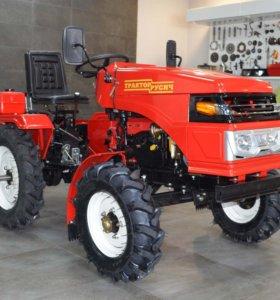 Мини трактор Русич Т-15 плуг+фреза 1,2м