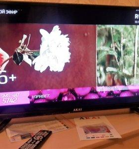 Телевизор новый Акай 82 см