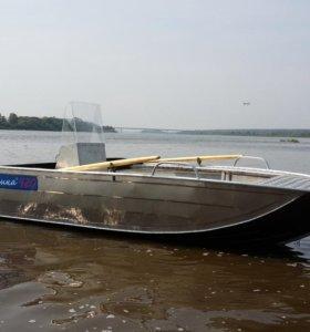 Алюминиевая лодка Тактика 420 Fish