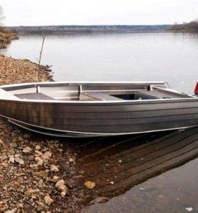 Алюминиевая лодка Тактика 430 Р