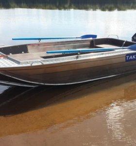 Алюминиевый лодка Тактика 450 fish