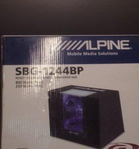 Сабвуфер ALPINE SBG -1244ВР